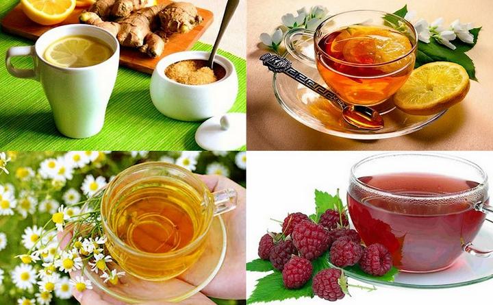 Лучшие рецепты чая от простуды